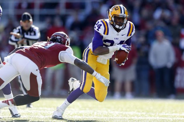 Tharold Simon: Video Highlights for Former LSU CB