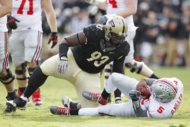 Kawann Short: Video Highlights for Former Purdue Defensive Tackle