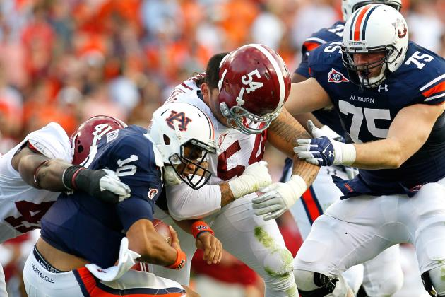Jesse Williams: Video Highlight of Former Alabama Defensive Tackle