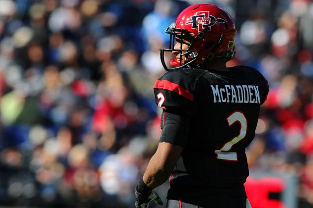 Leon McFadden: Video Highlights for San Diego State CB