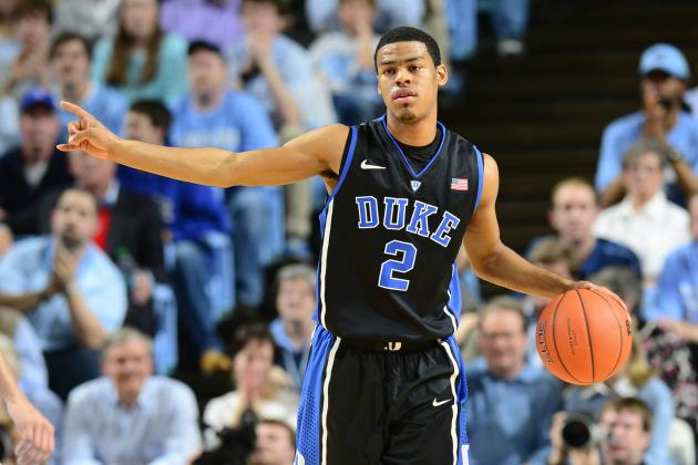 Duke Basketball: Projected Starting Lineups for Next Year's Showdown with UNC