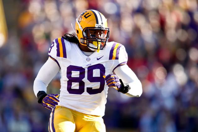 Lavar Edwards: Video Highlights for Former LSU DE