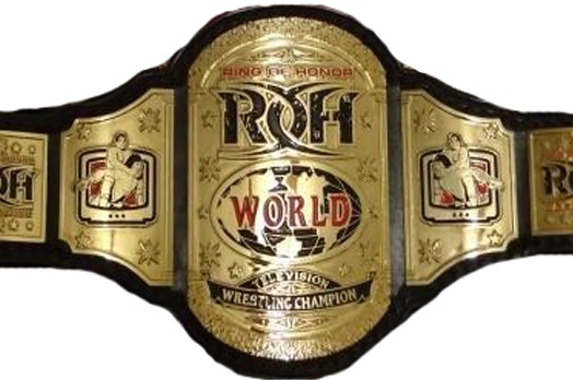 Wrestling Gold: The History of the ROH World Television Championship