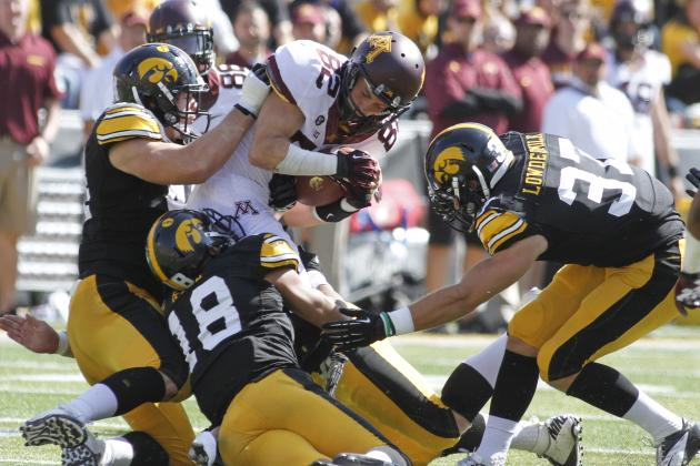 Iowa Football: Ranking the Toughest Opponents on Hawkeyes' 2013 Schedule