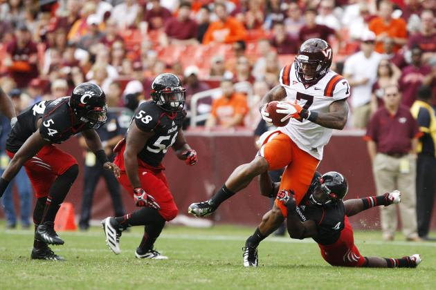 Marcus Davis: Video Highlights for Former Virginia Tech WR