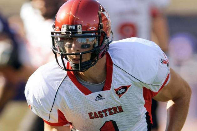 Brandon Kaufman: Video Highlights for Former Eastern Washington WR