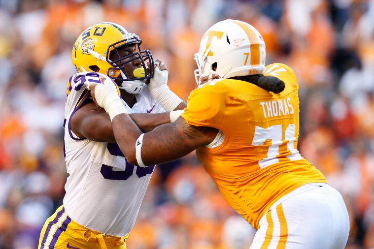 Dallas Thomas: Video Highlights for Former Tennessee OT