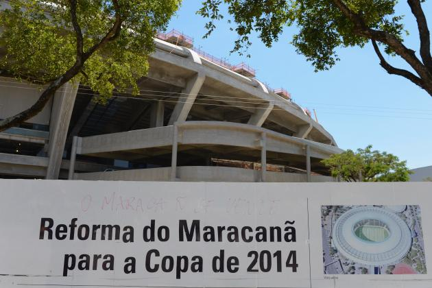 Brazil 2014: Latest News and Pictures of All 12 World Cup Stadiums