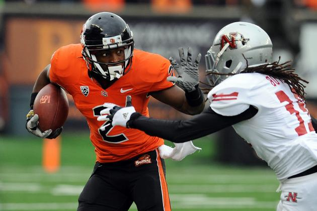 Markus Wheaton: 5 Things You Need to Know About the Oregon State WR