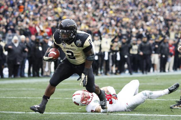 Zac Stacy: Video Highlights for Former Vanderbilt RB