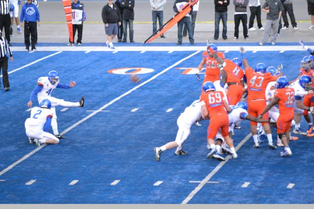 Boise State Football: Broncos' Post Spring-Game Two-Deep Depth Chart