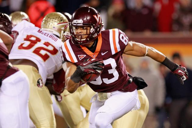 Corey Fuller: Video Highlights for Former Virginia Tech WR