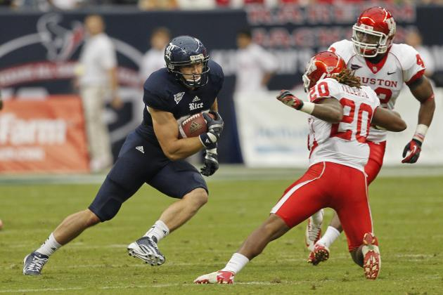 Vance McDonald: 5 Things You Need to Know About the Rice Tight End