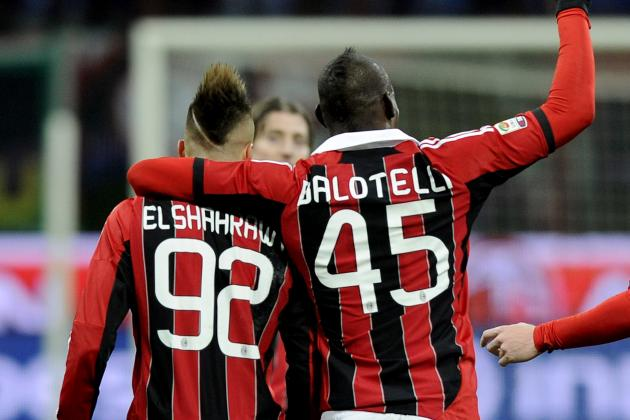 AC Milan's Balotelli-El Shaarawy Duo Is the Best Attacking Duo in the World