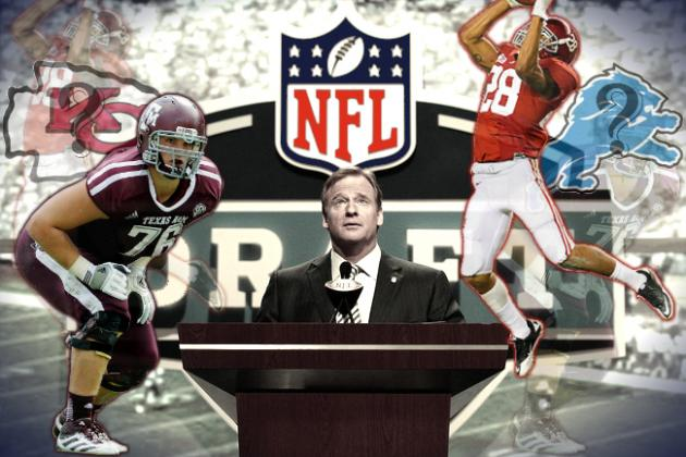 2013 NFL Draft: Full 1st-Round Mock, Complete with Projected Trades