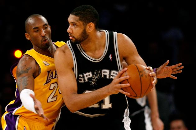 Ranking Best Spurs-Lakers Rivalry Games of the Kobe Bryant Era