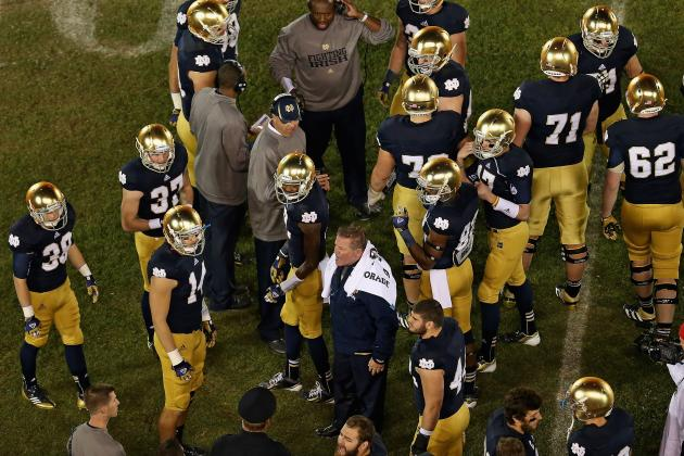Notre Dame Spring Game 2013: Blue and Gold Team Analysis