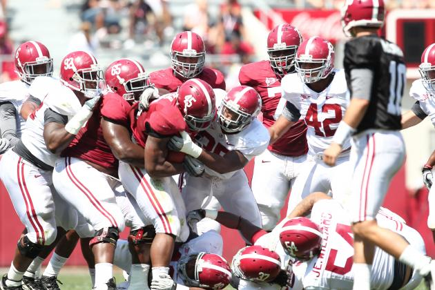 Alabama Spring Game 2013: A-Day Crimson and White Team Analysis