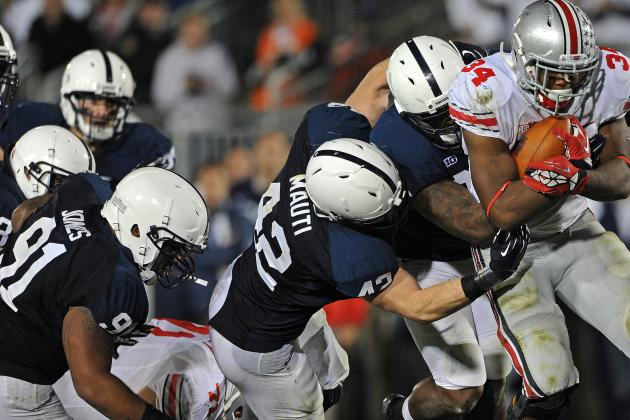 Penn State Football: Power Ranking the Nittany Lions' Toughest Games of 2013