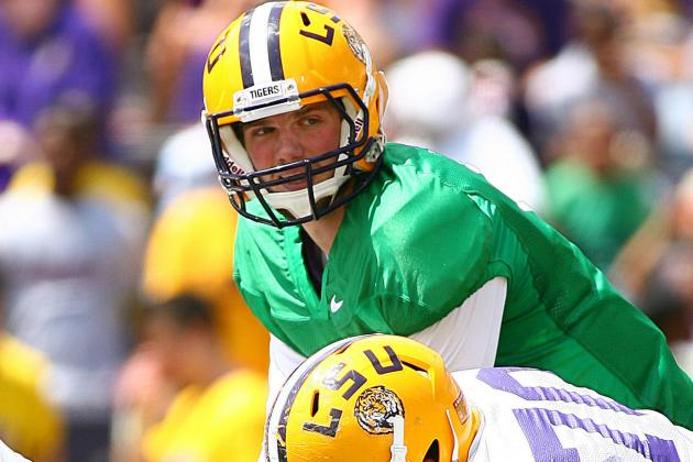 LSU Spring Game 2013: National L-Club Purple and Gold Team Analysis