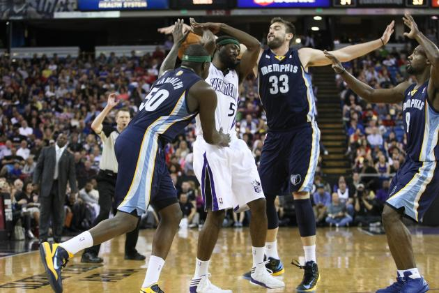 Final Regular-Season Grades for Each Memphis Grizzlies Player in 2013
