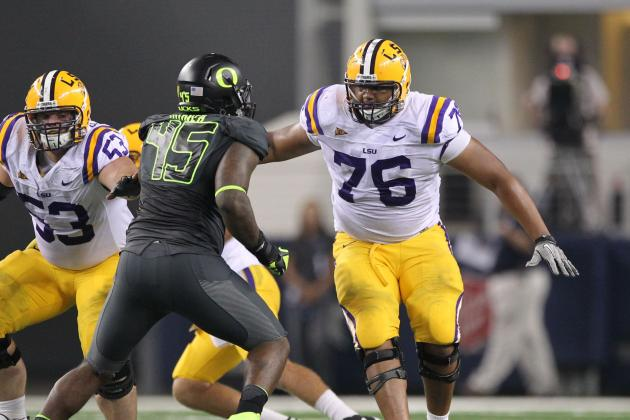 Chris Faulk: 5 Things You Need to Know About the LSU Offensive Tackle