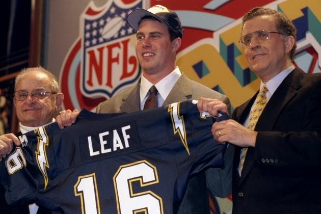 The 50 Worst Draft Picks in NFL History