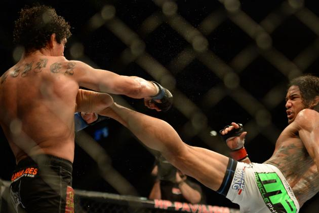 Benson Henderson and the 5 Best 5-Round Fighters in the UFC
