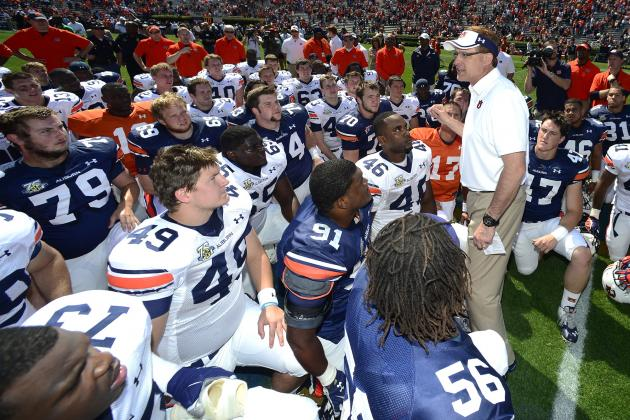 Auburn Football: Post-Spring Game 2-Deep Depth Chart