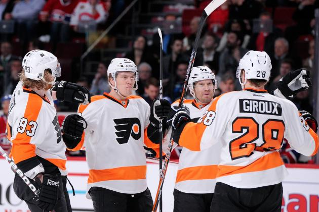 5 Most Telling Statistics from Philadelphia Flyers' 2013 Season
