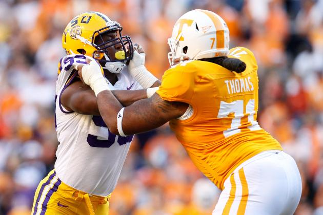 Dallas Thomas: 5 Things to Know About the Tennessee Offensive Tackle