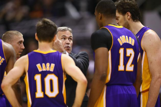 Keys to LA Lakers Surviving First Round of 2013 NBA Playoffs