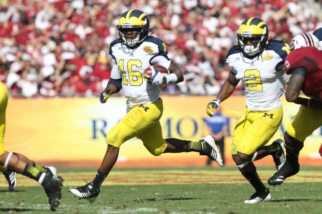 Denard Robinson: Video Highlights for Former Michigan WR