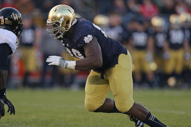 Kapron Lewis-Moore: Video Highlights for Former Notre Dame DE