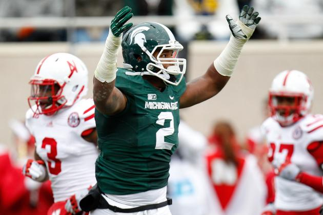 William Gholston: Video Highlights for Former Michigan State DE