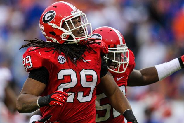 Jarvis Jones: Video Highlights for Former Georgia OLB