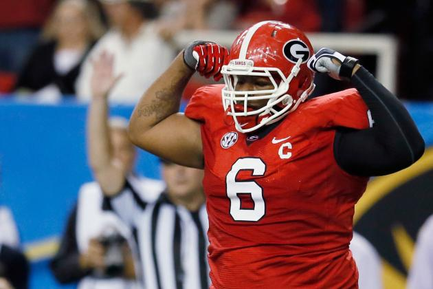 John Jenkins: 5 Things You Need to Know About the Georgia Defensive Tackle