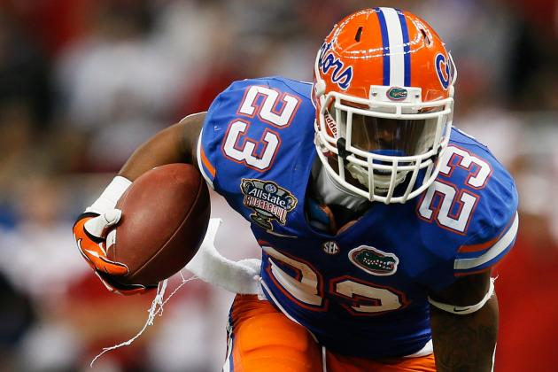 Mike Gillislee: 5 Things to Know About the Florida RB