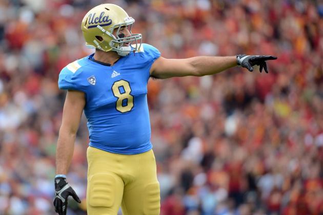 Joseph Fauria: Video Highlights for Former UCLA TE
