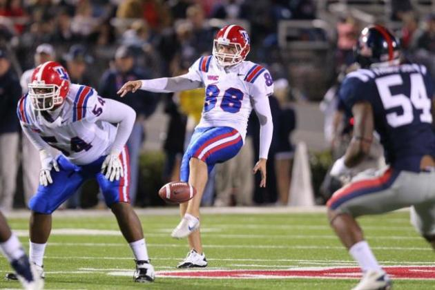 Ryan Allen: 5 Things You Need to Know About the Louisiana Tech Punter