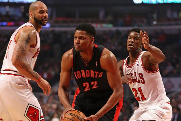 Final Regular Season Grades for Each Toronto Raptors Player in 2013