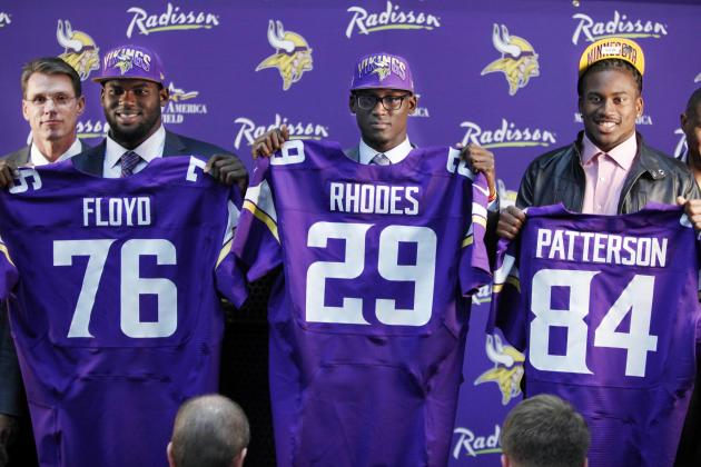 Minnesota Vikings 2013 Draft Picks: Results, Analysis and Grades