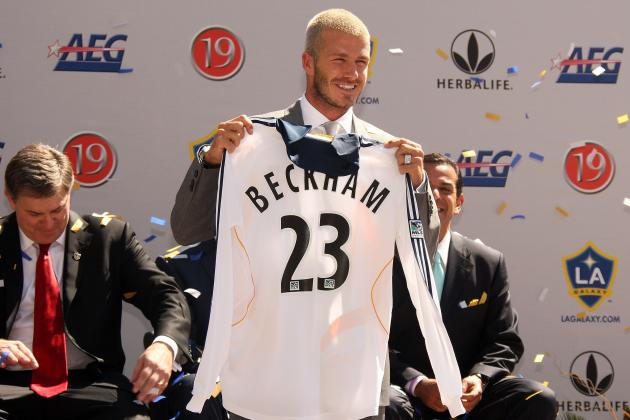 Beckham and the 5 Most Important Players to MLS Growth so Far