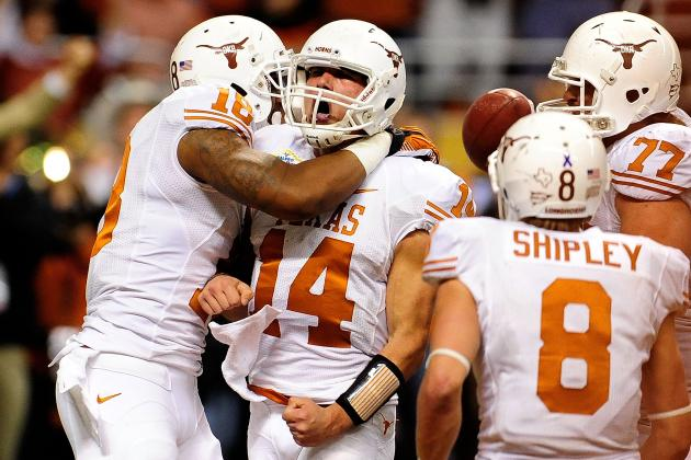 Texas Football: Power Ranking the Longhorns' Toughest Games of 2013