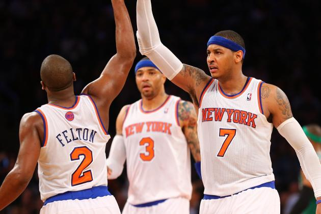 Ranking the 2012-13 NY Knicks Regular Season Among Top 10 All-Time