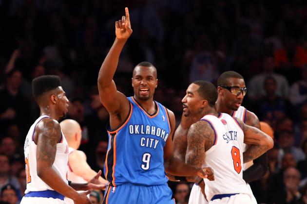 Most Memorable Games from the OKC Thunder's 2012-13 Season