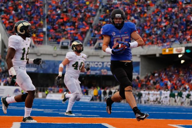 Boise State Football: Spring Preview for the Tight Ends