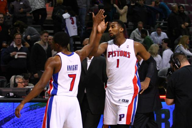 Final Regular Season Grades for Each Detroit Pistons Player in 2013