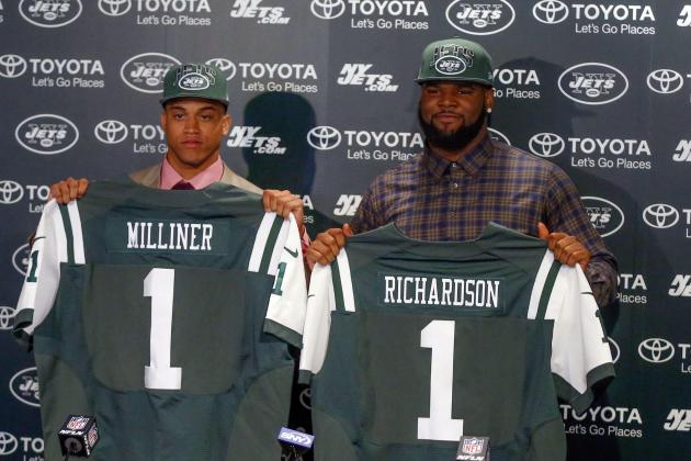 Initial Post-Draft Depth Chart for the New York Jets