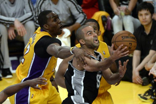 San Antonio Spurs vs. LA Lakers: Postgame Grades and Analysis